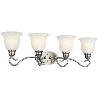 Kichler Lighting 45904NI Tanglewood - Four Light Bath Bar