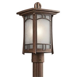 Kichler Lighting 49453AGZ Soria - One Light Outdoor Post