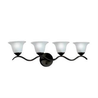 Kichler Lighting 6324TZ Dover - Four Light Bath Strip