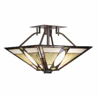 Kichler Lighting 65323 Denman - Two Light Semi-Flush Mount
