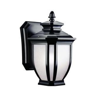 Kichler Lighting 9039BK Salisbury - One Light Outdoor Wall Mount
