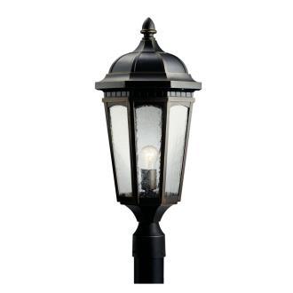 Kichler Lighting 9532RZ Courtyard - One Light Outdoor Post Mount