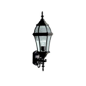 Kichler Lighting 9791BK Townhouse - One Light Outdoor Wall Bracket