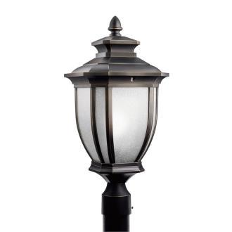Kichler Lighting 9938RZ Salisbury - One Light Outdoor Post Mount