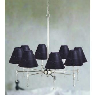 Laura Ashley SLE23007-HST080 State Street - Eight Light Pendant