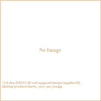 LBL Lighting PF665TNNRCF Derby - One Light Rectangular Suspension