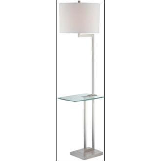 Lite Source LS-81746PS/WHT Rudko - One Light Floor Lamp