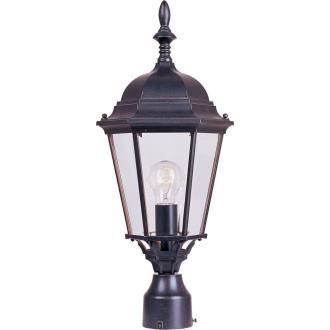 Maxim Lighting 1005EB Westlake - One Light Outdoor Pole/Post Lantern