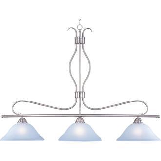 Maxim Lighting 10127ICSN Basix - Three Light Island Pendant
