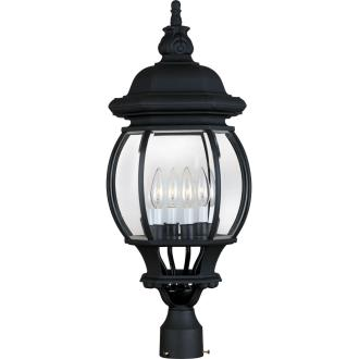 Maxim Lighting 1038 Crown Hill - Four Light Outdoor Pole/Post Lantern