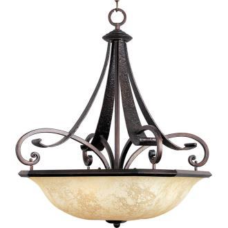 Maxim Lighting 21077 Oak Harbor - Four Light Invert Bowl Pendant