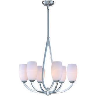 Maxim Lighting 22175SWPC Elan - Six Light Chandelier