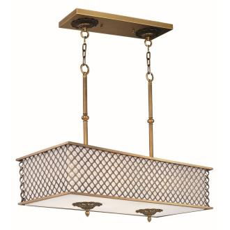 Maxim Lighting 22365OMNAB Manchester - Eight Light Pendant