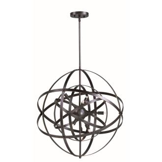 Maxim Lighting 25130BR Sputnik - Six Light Pendant