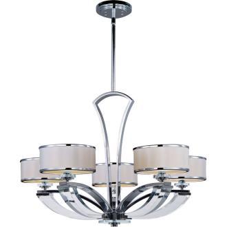 Maxim Lighting 39825BCWTPC Metro - Five Light Chandelier