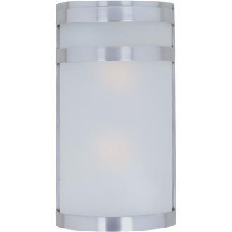 Maxim Lighting 5002FTSST Arc - Two Light Outdoor Wall Mount
