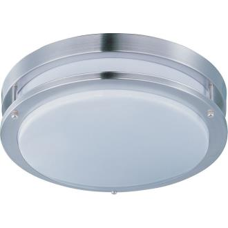 "Maxim Lighting 87544WTSN 14"" 18W 1 LED Flush Mount"