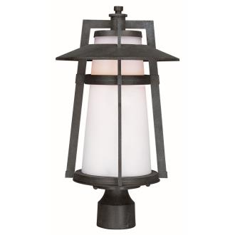 "Maxim Lighting 88530SWAE Calistoga - 19"" 8W 1 LED Outdoor Pole/Post Mount"