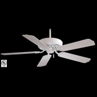 "Minka Aire Fans F571-WH Sundance 52"" Indoor/Outdoor Ceiling Fan"