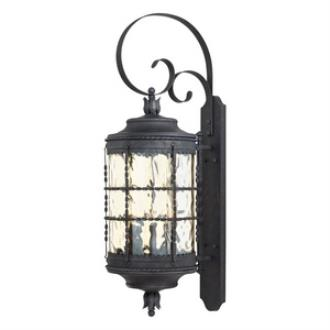 Minka Great Outdoors 8883-A39 Mallorca - Five Light Wall Mount