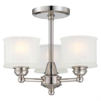 Minka Lavery 1738-613 1730 Series - Three Light Semi-Flush Mount