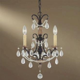 Minka Lavery 3133-209 3 Light Mini Chandelier