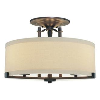 Minka Lavery 4499-298 Ansmith - Three Light Semi Flush Mount