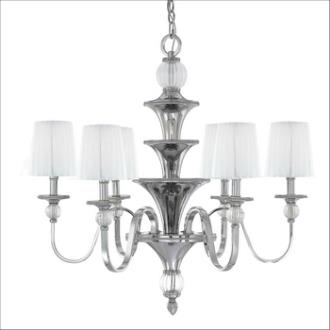 Minka Metropolitan Lighting N6610-613 Aise - Six Light Chandelier