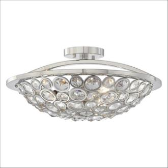 Minka Metropolitan Lighting N6750-613 Magique - Three Light Semi-Flush Mount