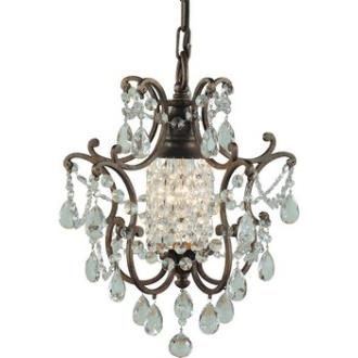 Feiss F1879/1BRB Maison De Ville - One Light Mini Duo Chandelier