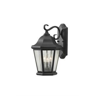 Feiss OL5902BK Martinsville - Three Light Outdoor Wall Lantern