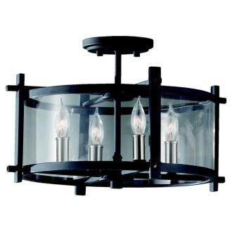 Feiss SF292AF/BS Ethan - Four Light Indoor Semi-Flush Mount