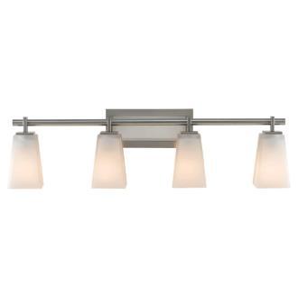 Feiss VS16604-BS Clayton - Four Light Vanity