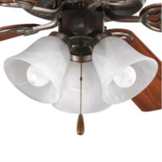 Progress Lighting P2600-20 Accessory - Three Light Ceiling Fan Kit