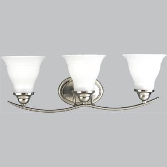 Progress Lighting P3192-09 Trinity - Three Light Bath Vanity