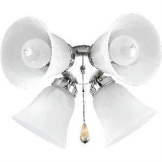 Progress Lighting P2610-09 Airpro - Four Light Ceiling Fan Kit
