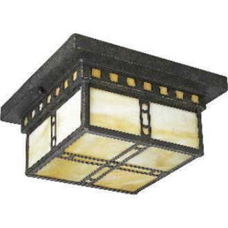 Progress Lighting P3513-46 Arts and Crafts - Two Light Flush Mount
