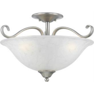Quoizel Lighting DH1718AN Duchess - Three Light Semi Flush Mount
