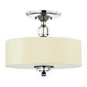 Quoizel Lighting DW1717C Downtown - Three Light Semi-Flush Mount
