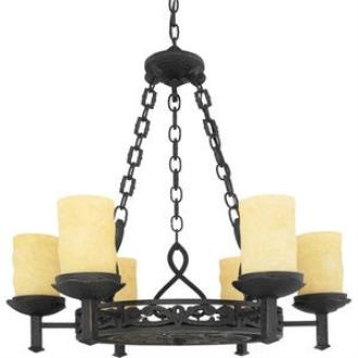 Quoizel Lighting LP5006IB La Parra - Six Light Chandelier