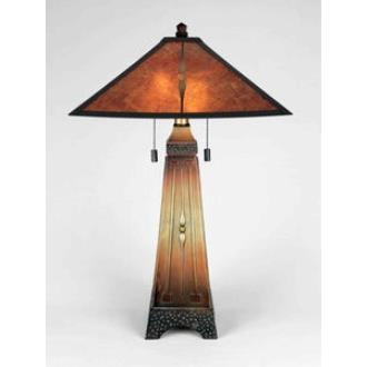 Quoizel Lighting MC6793M Amber - Two Light Table Lamp