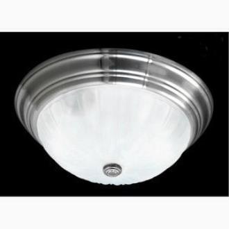 Quoizel Lighting ML184ES Melon - Three Light Flush Mount