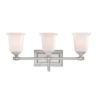 Quoizel Lighting NL8603BN Nicholas - Three Light Bath Vanity