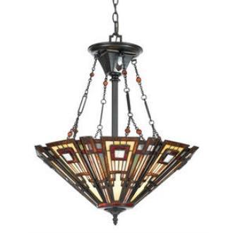 Quoizel Lighting TFCC2822VA Classic Craftsman - Three Light Pendant