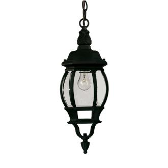 Savoy House 07095-BLK One Light Outdoor Hanging Lantern
