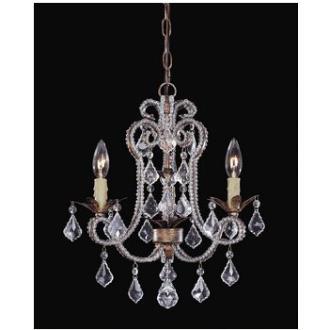 Savoy House 1-37000-3-22 Three Light Mini Chandelier