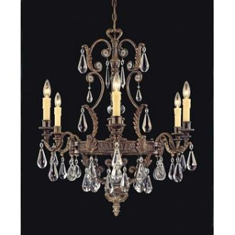 Savoy House 1-6202-6-241 L'Art du Luminaire - Six Light Chandelier