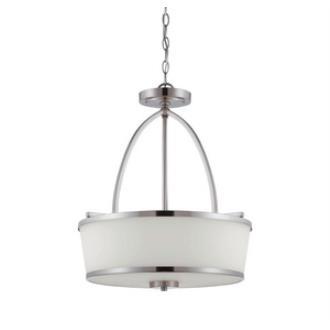 Savoy House 7-4386-3-SN Hagen - Three Light Pendant