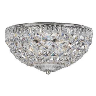 Schonbek Lighting 1560 Petit Crystal - Four Light Flush Mount