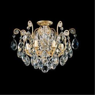 Schonbek Lighting 3784 Renaissance - Six Light Flush Mount
